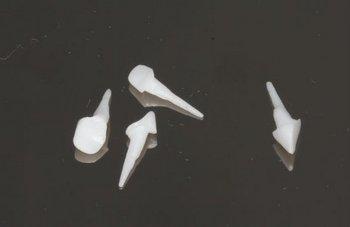 Штифтовая культевая вкладка циркониевая